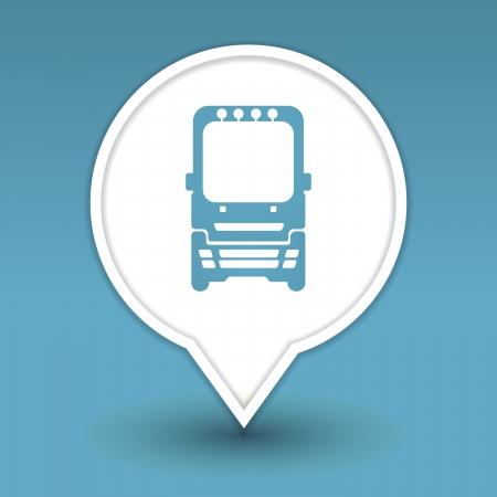 bus, icon for web Stock Vector - 18909003
