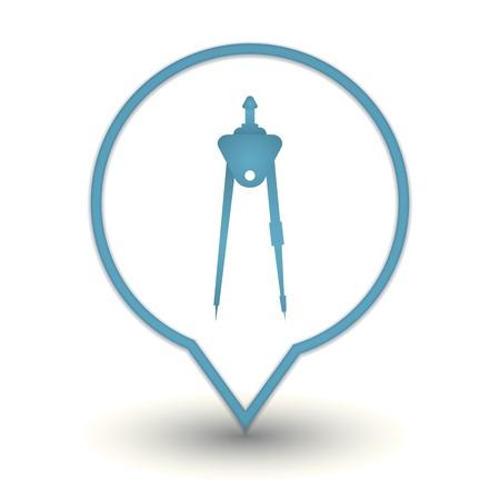 compass web icon Stock Vector - 18909026