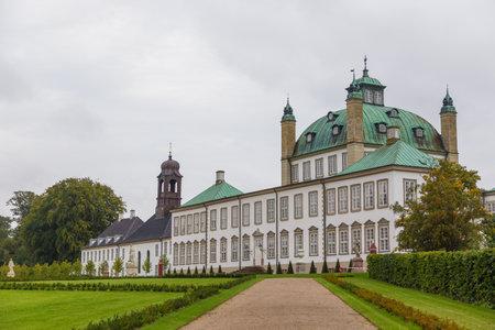 Fredensborg, Dänemark - 30. August 2014: Schloss Fredensborg, einer der offiziellen Residenzen der dänischen Königsfamilie.
