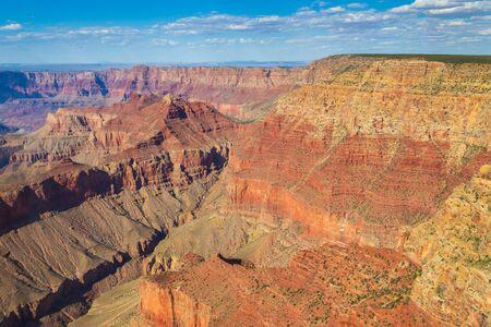 Scenic view in Grand Canyon Colorado National Park, Arizona, USA 版權商用圖片