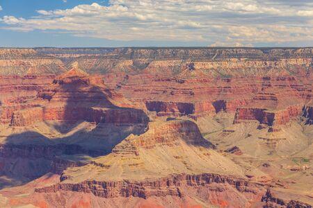 Grand Canyon view from South Rim, National Park. Arizona, USA.