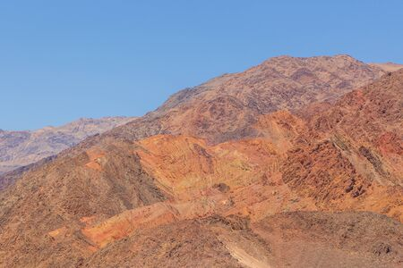 View of the Desert Hills from Jubilee Pass, mountainside in Death Valley, California, USA. Stock fotó