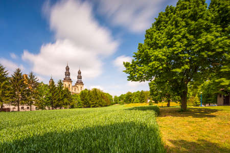 Lad Abbey is a former Cistercians monastery in Lad - village, Poland. Lad Abbey is designated an official Polish Historic Monument.