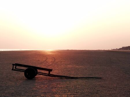handcart: Sea Beach