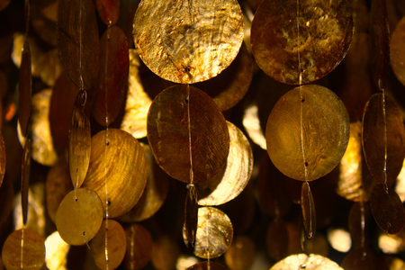 Gold Wind Chimes