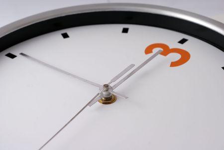 Wall Clock at 3 o\