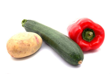 courgette potato and red pepper