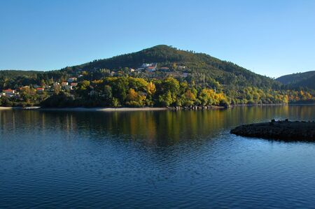lake in mountain of Geres, in the north of Portugal Stock Photo