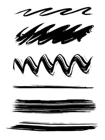 Paint brushes, ready to use Illustration