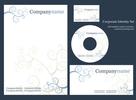 Corporate business template series Stock Vector - 3516392