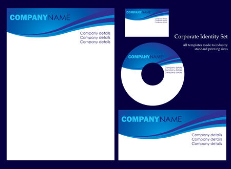 Corporate business template series Stock Vector - 3516383