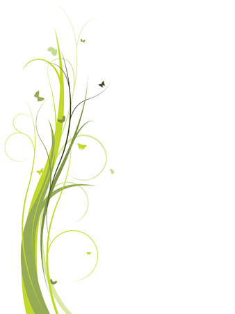 Elegant floral design Stock Vector - 3516369