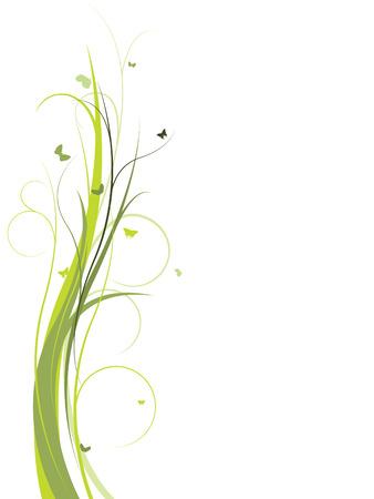 Elegant floral design Illustration