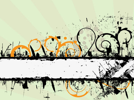 Grunge banner background Stock Vector - 3516408