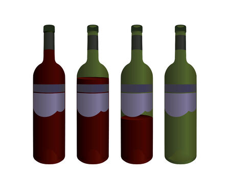 vino: Collection of wine bottles