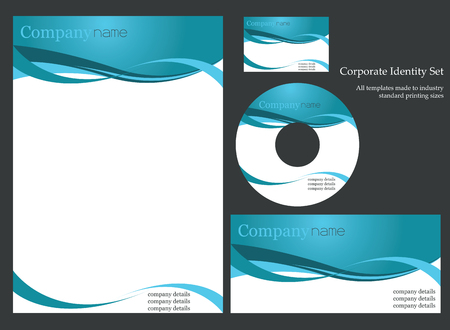 cd label: Corporate identity template