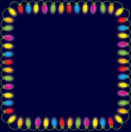 luces navidad: Las luces de Navidad festiva