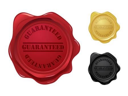 Guaranteed wax seals