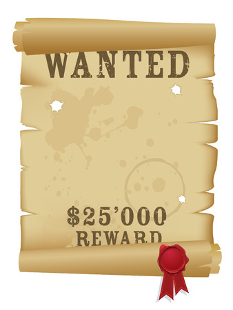 Wanted poster Stock Vector - 3822829