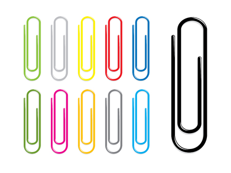 office supplies: Paper clips