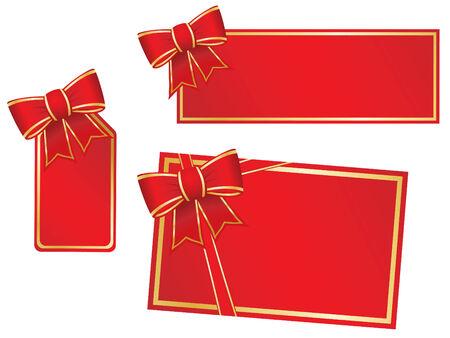 burgundy ribbon: Natale in bianco e archi dono carte.