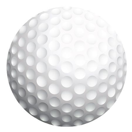 Golf ball illustration Illustration