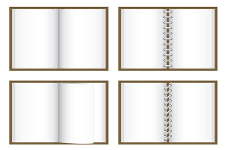 Blank books Stock Vector - 4082655