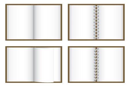 Blank books Stock Vector - 4082655