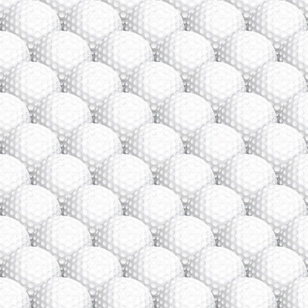 Seamless golf ball background Stock Vector - 4113676