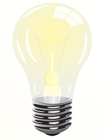 inventions: Lightbulb illustration