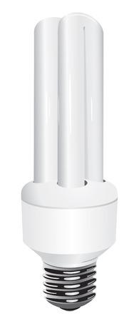 Energy light bulb illustration Stock Vector - 4185721
