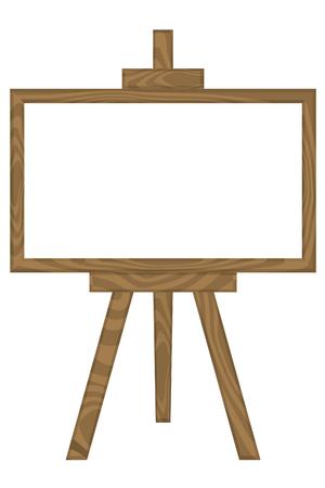 whiteboard: Wit bord met standaard
