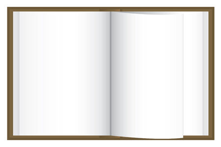Blank book Stock Vector - 4200331