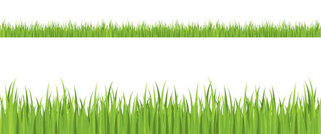 Seamless grass illustration Stock Vector - 4259623