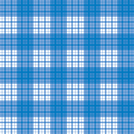Seamless checked blue pattern Stock Vector - 4295611
