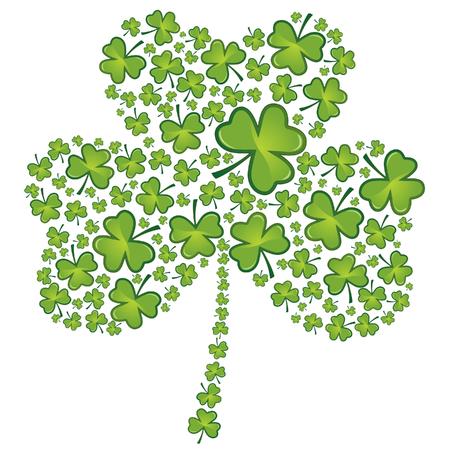 patricks day: St Patrick's Day tr�bol patr�n
