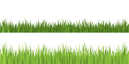 Seamless grass, grouped for easy editing Stock Vector - 4416200