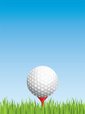Golfing background