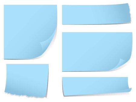 notas adhesivas: Nota notas pegajosas