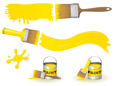Paint brushes Stock Vector - 5133989