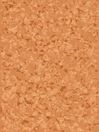 Blank corkboard background Vector