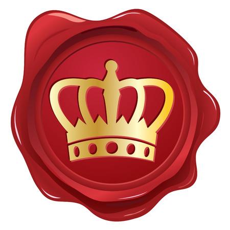 foil: Sigillo di cera di corona