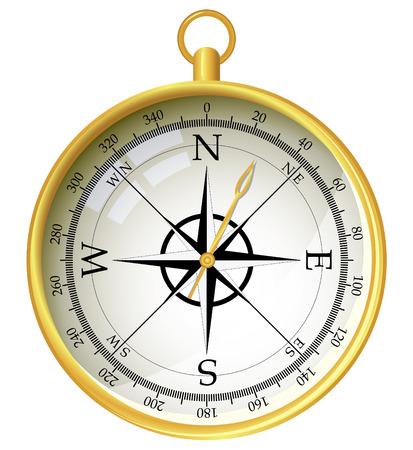 Compass illustration Stock Vector - 6353895