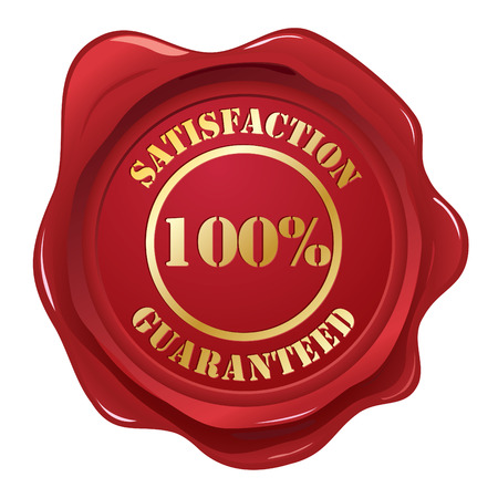 Satisfaction Guaranteed seal Stock Vector - 6441124