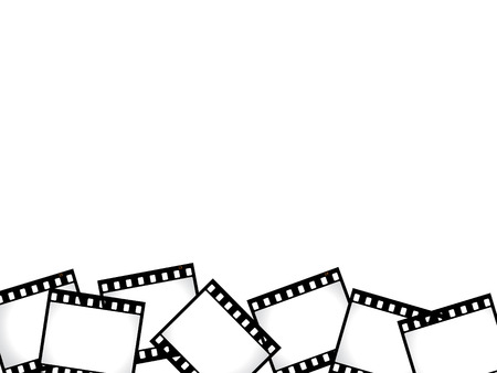 develop: Film strip border Illustration