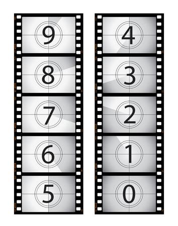 snap: Vertical film countdown