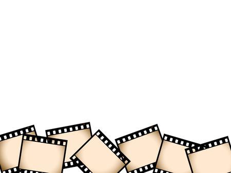 Sepia film border