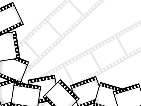 Film background Stock Vector - 6748488