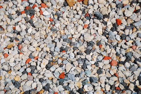 Colorful stones background texture