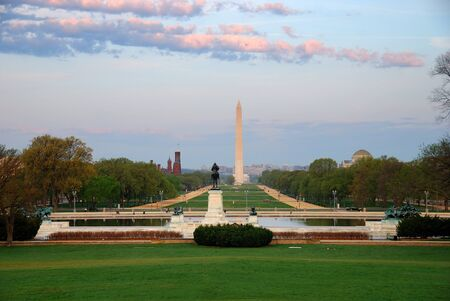 National Mall with Washington Monument, Washington DC, USA photo